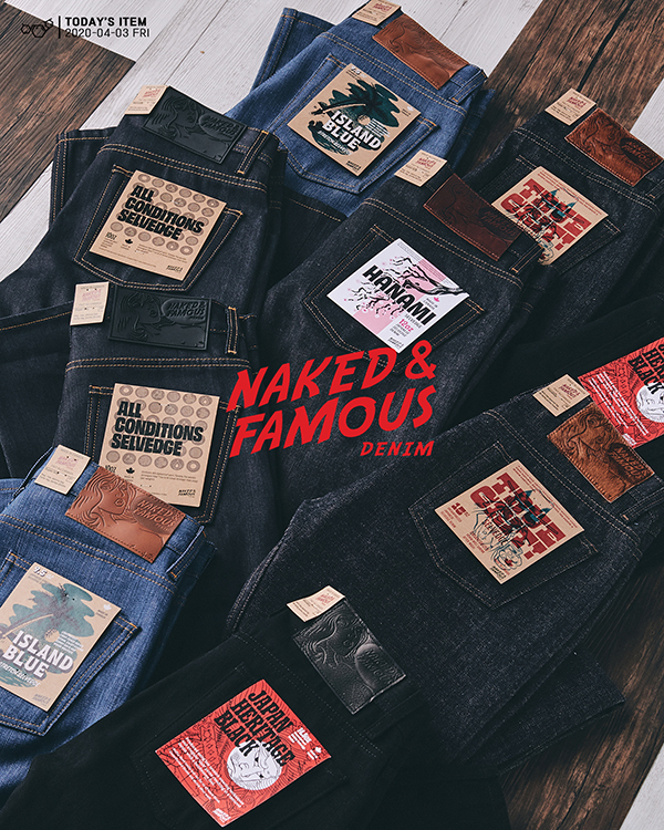 [NEW ARRIVALS] NAKED&FAMOUS NEW SEASON DENIM